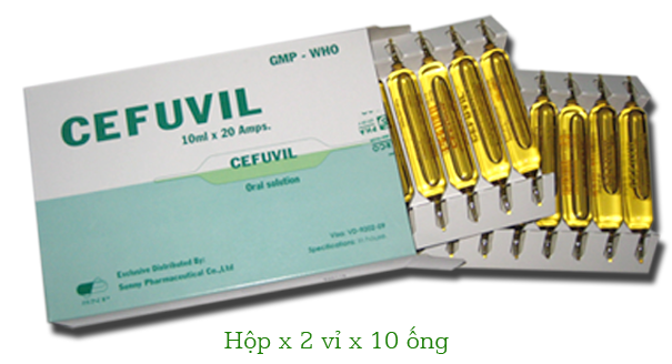 CEFUVIL (Calci glucoheptonat)